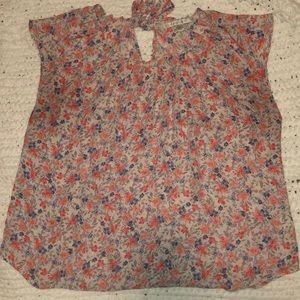 Lauren Conrad floral shirt